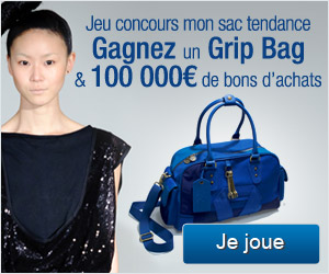 "Jeu concours ""MON SAC TENDANCE"" Sakina M'Sa et aufeminin.com"