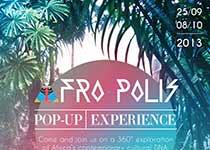 Conférence et Pop-up Experience par AFRO-POLIS