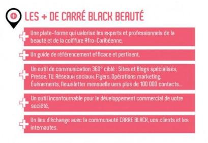 Afro Guide Digital Carre Black Beaute avantages