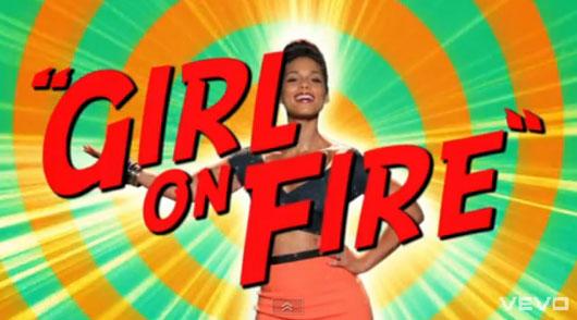 "AliciaKeys-girlonFire New Video : ""Girl On Fire"" par Alicia Keys"