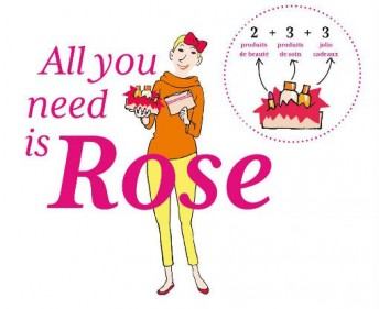 All you need is Rose beauty box femmes cancer