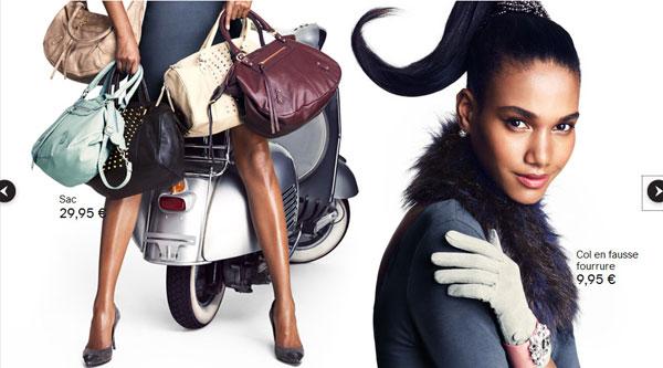 """Arlenis-Sosa-HM-Timodellemagazine-03 Arlenis Sosa pour la campagne """"Reflets d'Automne"""" par H&M France"""