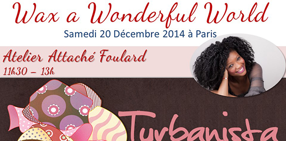 Atelier Turbanista Wax a wonderful world pagnifik Une