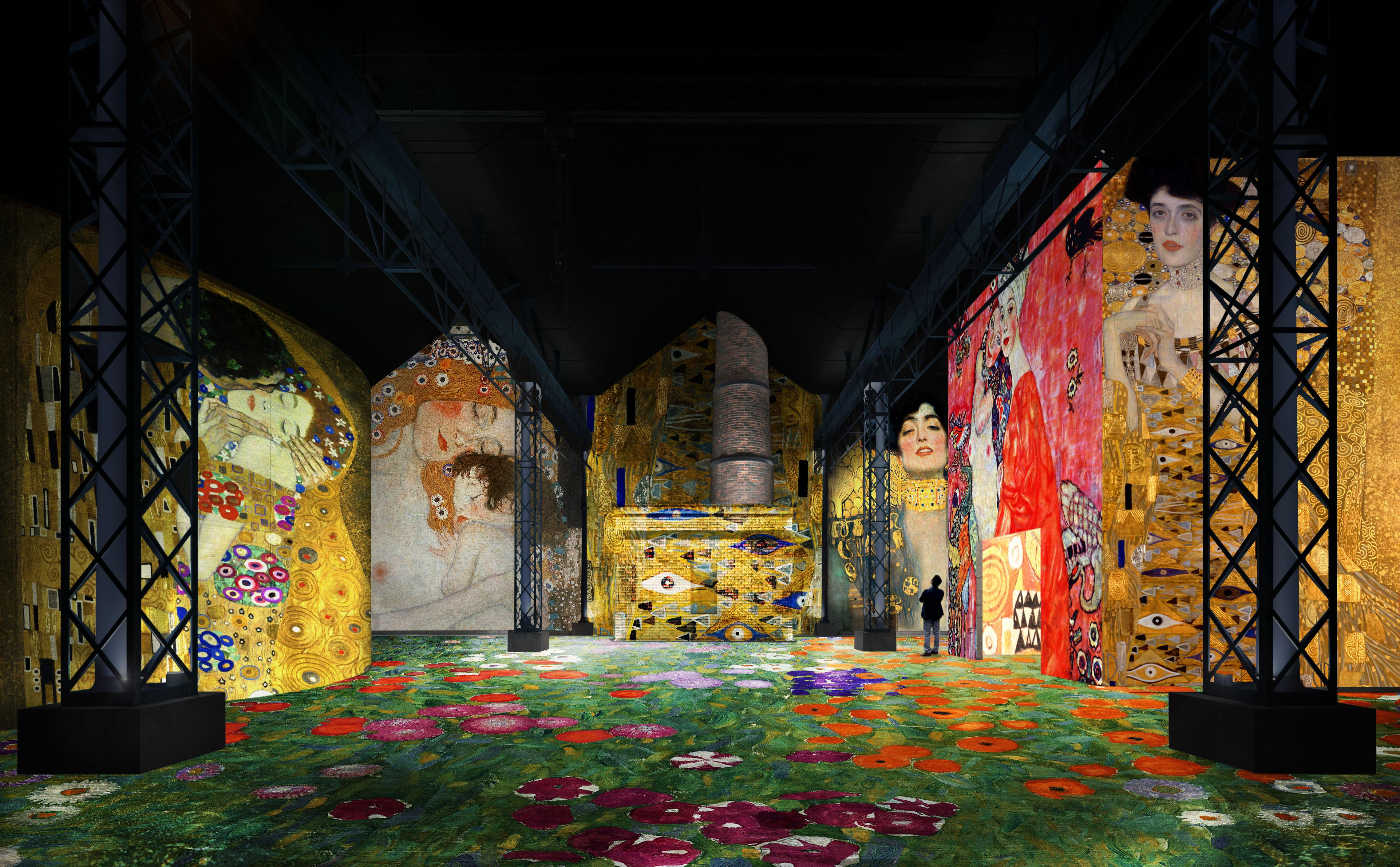 Atelier des Lumières 1 Culturespaces NuitdeChine