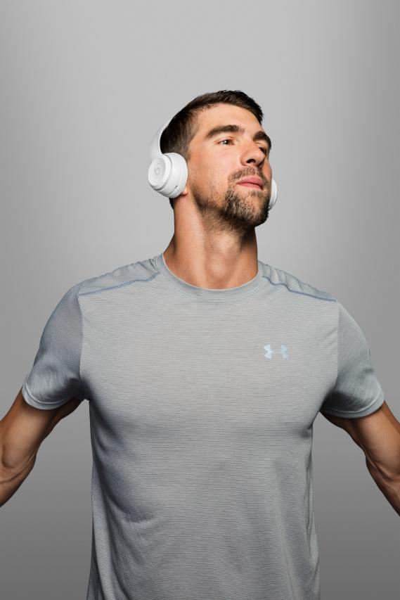 Beats-by-dre-got-no-strings-headphones-casque-sans-fil_Michael_Phelps Beats by Dre : Casting all star pour la campagne « Got No Strings »