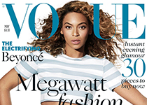 Beyonce en couv' de vogue UK mai 2013