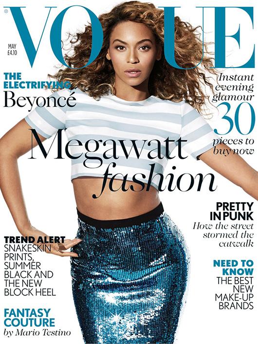 Beyonce-Vogue-UK-cover Beyonce en couv' de vogue UK mai 2013