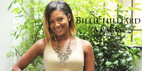 Billie Hilliard Interview Paris Une