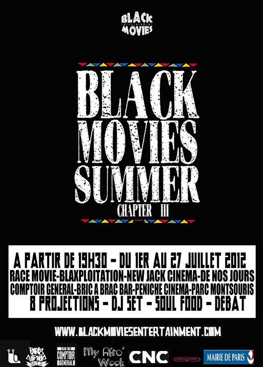 Black-movie-Summer Festival Black Movies Summer du 1er juillet au 27 juillet 2012