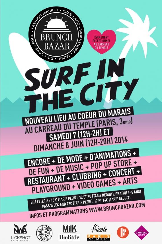 Brunch Bazar  Surf In The City