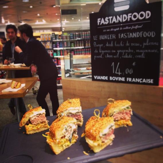 Burger FASTANDFOOD au Lafayette Gourmet
