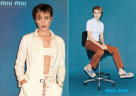 Chloe-Sevigny-miu-miu-2 Chloë Sevigny nouvelle égérie de Miu Miu par Mert & Marcus