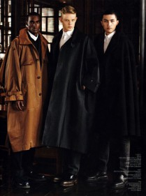 Corey Baptiste Vogue for Q Style China