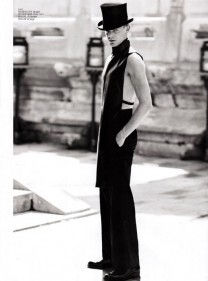 Corey Baptiste Vogue for Q Style China