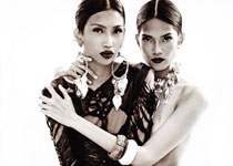 Danica Magpantay et Manuela Basilio pour Metro Magazine Octobre 2012