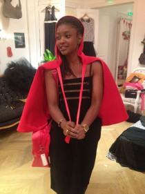 Dawanda timodelle chaperon rouge