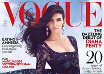 Diana Penty Vogue home