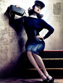 Du Juan Vogue China August