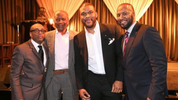 Essence Magazine Black Men In Hollywood  Timodelle Magazine Spike lee Sidney Poitier Tyler Perry Malcom Lee e