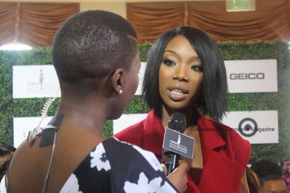 Essence Magazine Black Women In Hollywood  Timodelle Magazine Brandy  e