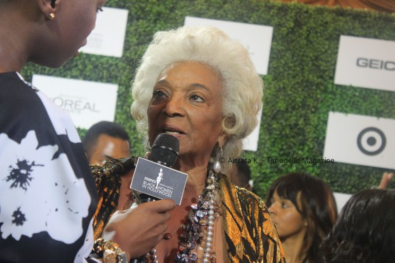 Essence Magazine Black Women In Hollywood  Timodelle Magazine Nichelle Nichols e
