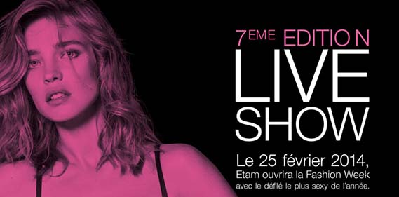 Etam Live Show  une