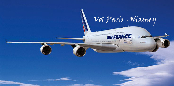 Vol Air France Paris-Niamey le plus long de l'histoire !