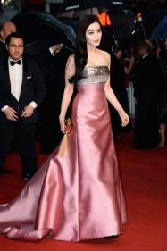 Fan Bingbing louis vuitton dress cannes