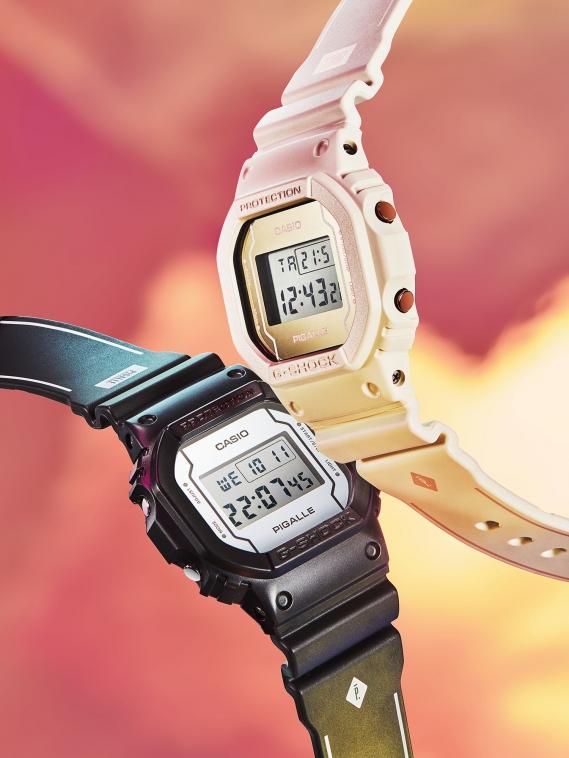 G-Shock se met à l'heure de Pigalle