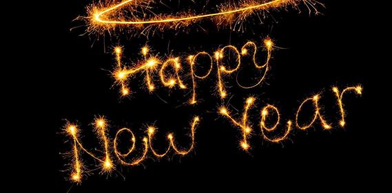 HAPPY NEW YEAR  UNE