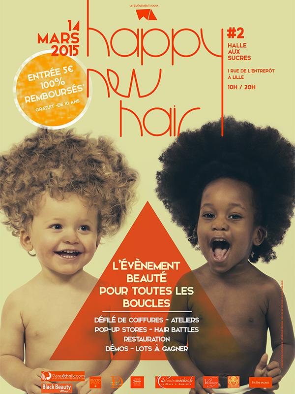HAPPY NEW HAIR : l'évènement beauté pour toutes les boucles