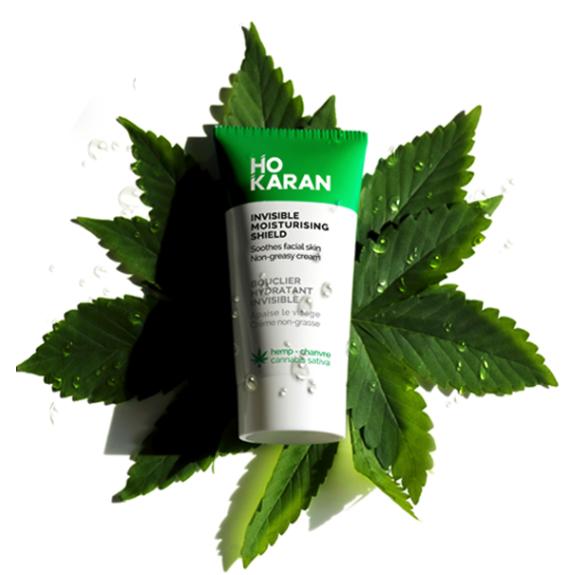 Ho Karan cannabis sativa natural vegan skincare soins naturel
