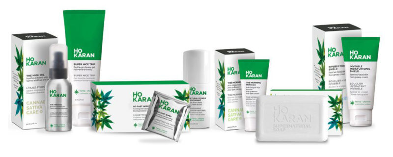 Ho Karan cannabis sativa natural vegan skincare soins naturel