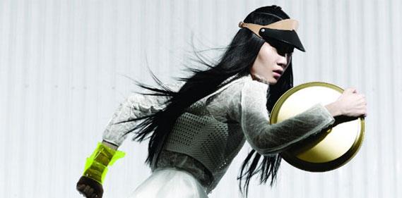 Ishie W Moo King Fashion Magazine une