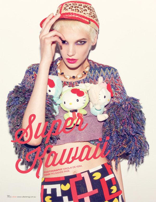 Jessica Pitti Culture Magazine August September