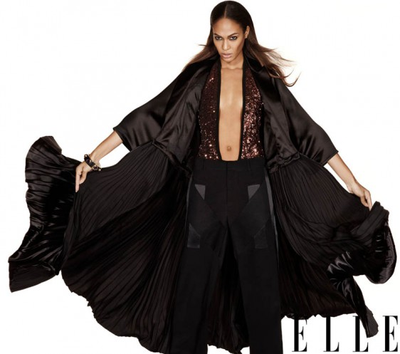 Joan Smalls Elle US   e