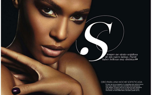 Joan Smalls Glamour Spain