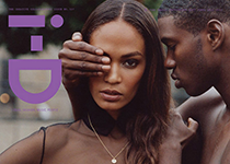 Joan Smalls iD magazine Fall  home