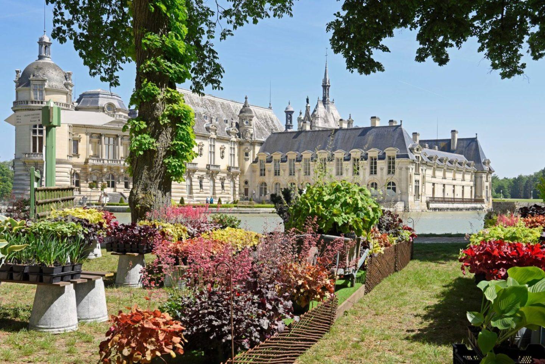 Journées des Plantes de Chantilly 2021 chateau