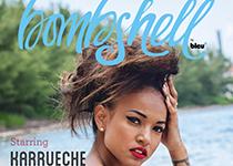 Karrueche Tran en couverture de Bombshell Magazine by Bleu