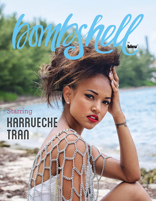 Karrueche Tran Bombshell by Bleu