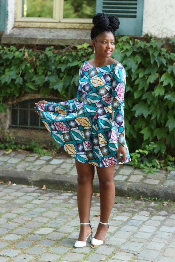Kay Minaa Wax Dress