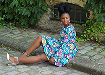 Kay Minaa Wax Dress home