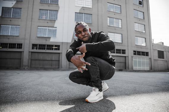 Kendrick-Lamar-Reebok-Classic-Leather-Sneakers Kendrick Lamar ambassadeur de la Reebok Classic Leather
