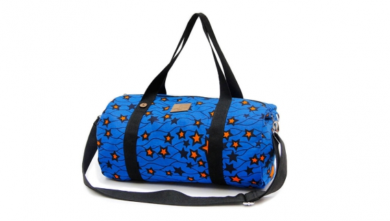 Keziah Jones Faguo HRM duffle constellations vue