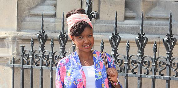 Kimono Primark Turban Une