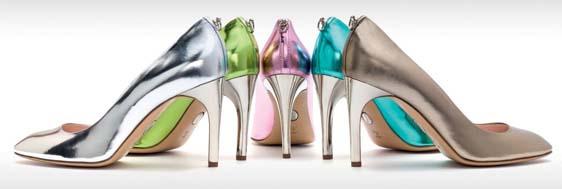 François Najar présente sa collection de chaussures Printemps-Été 2014