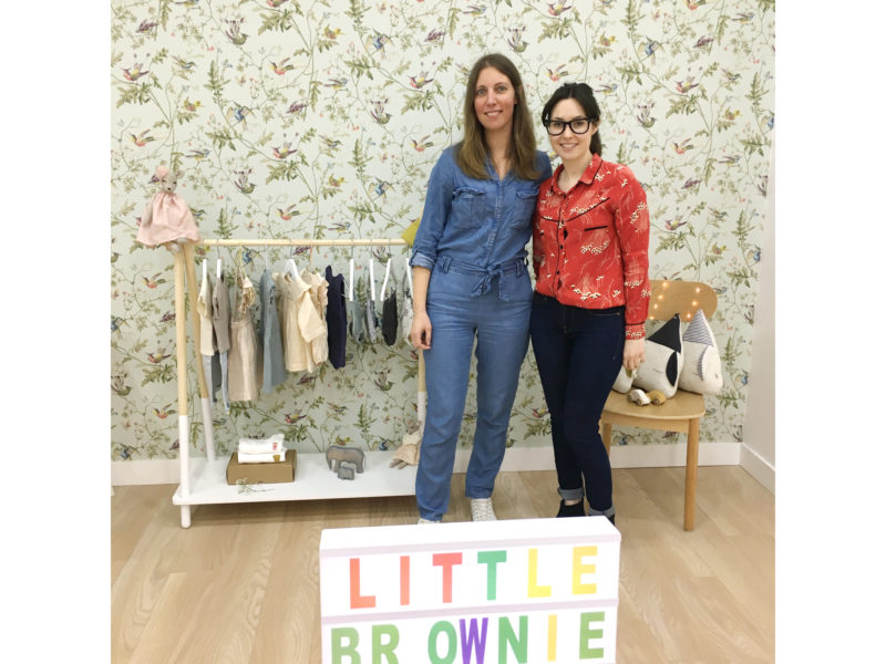 Little Brownie coffret de naissance made in france