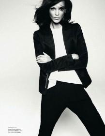 Liya Kebede Harpers Bazaar