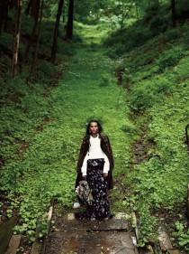Liya Kebede for T Style Magazine